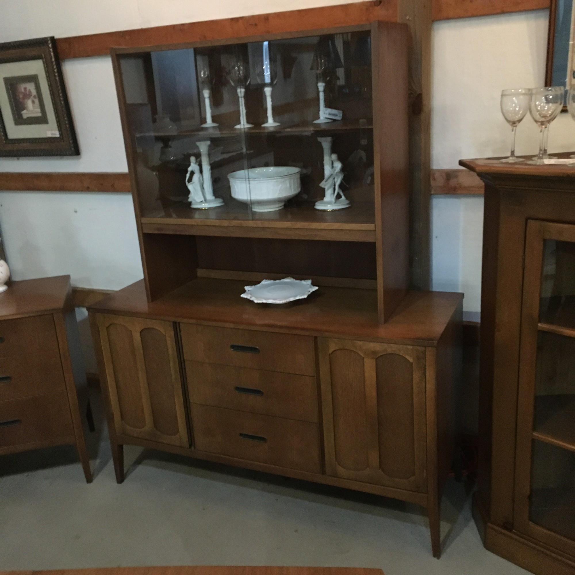 Midcentury China Cabinet<br /> Call to be sure still available