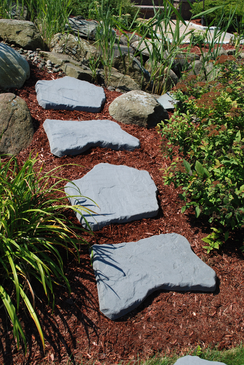 Irregular Stepping Stones